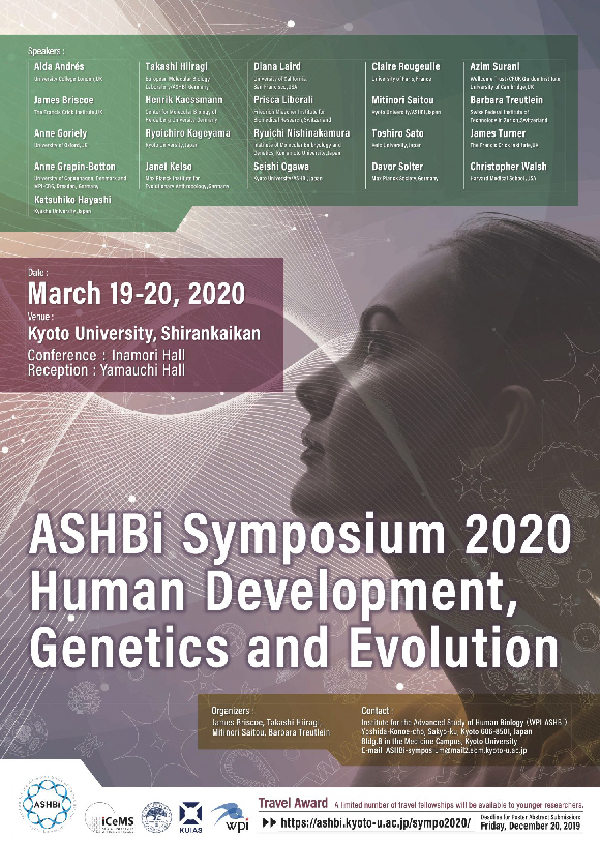 Application Requirements for Poster Presentation — ASHBi Symposium 2020