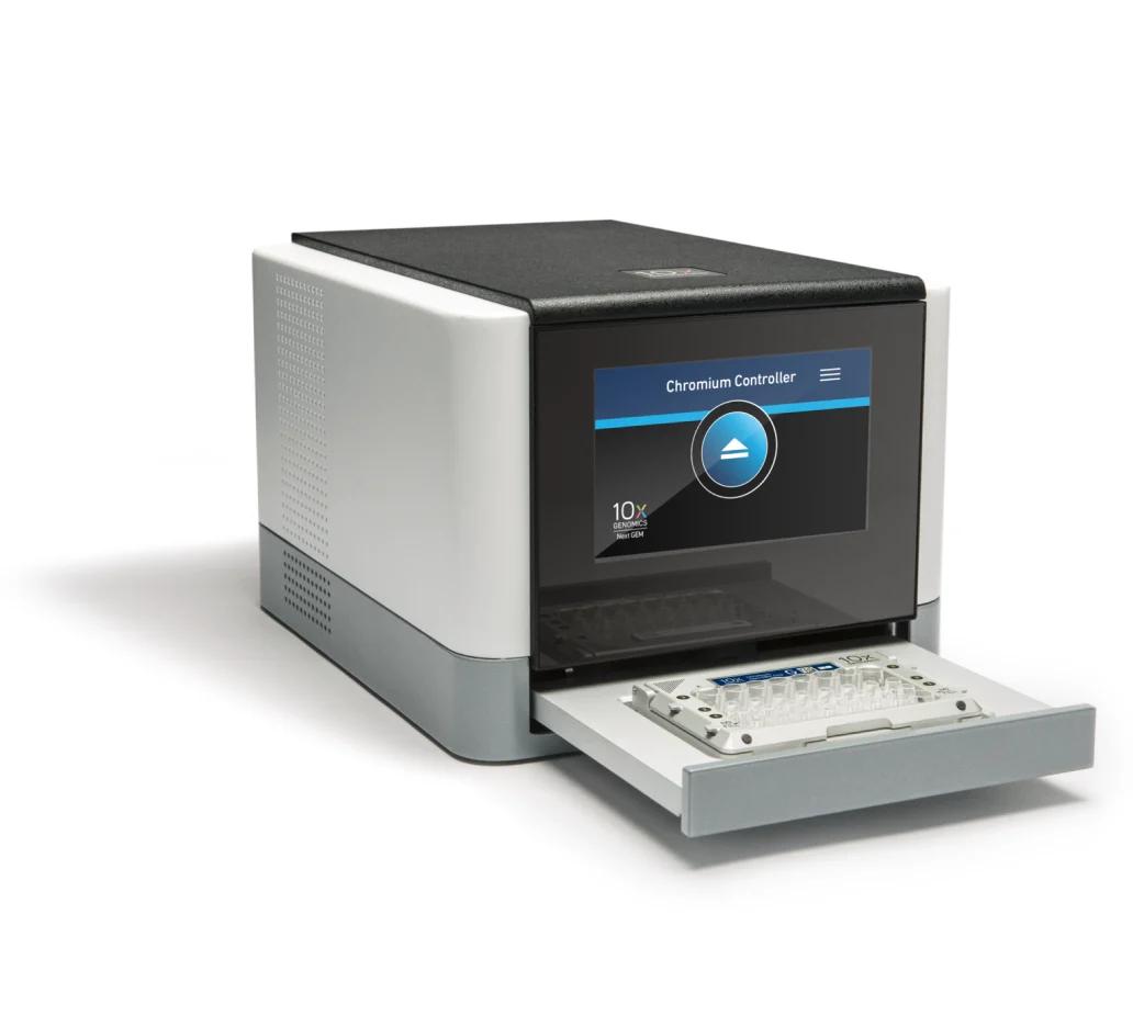 シングルセルライブラリー調製装置 Chromium Controller (10X Genomics)