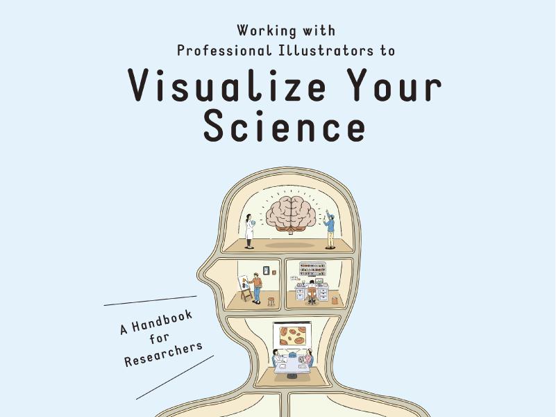 冊子『プロに依頼する科学イラストのススメ』英語版を制作