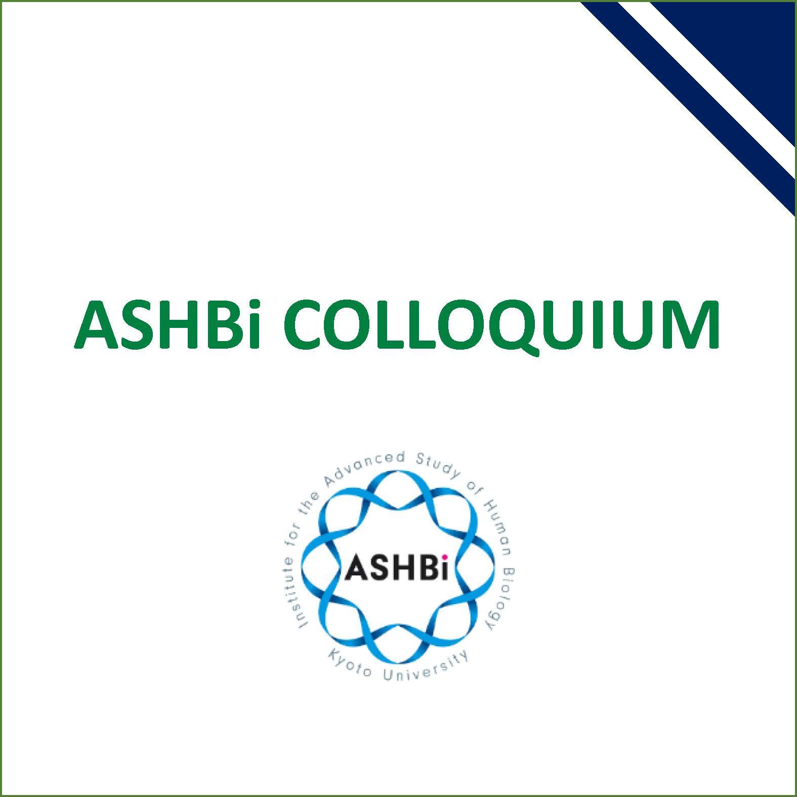 ASHBi Colloquium