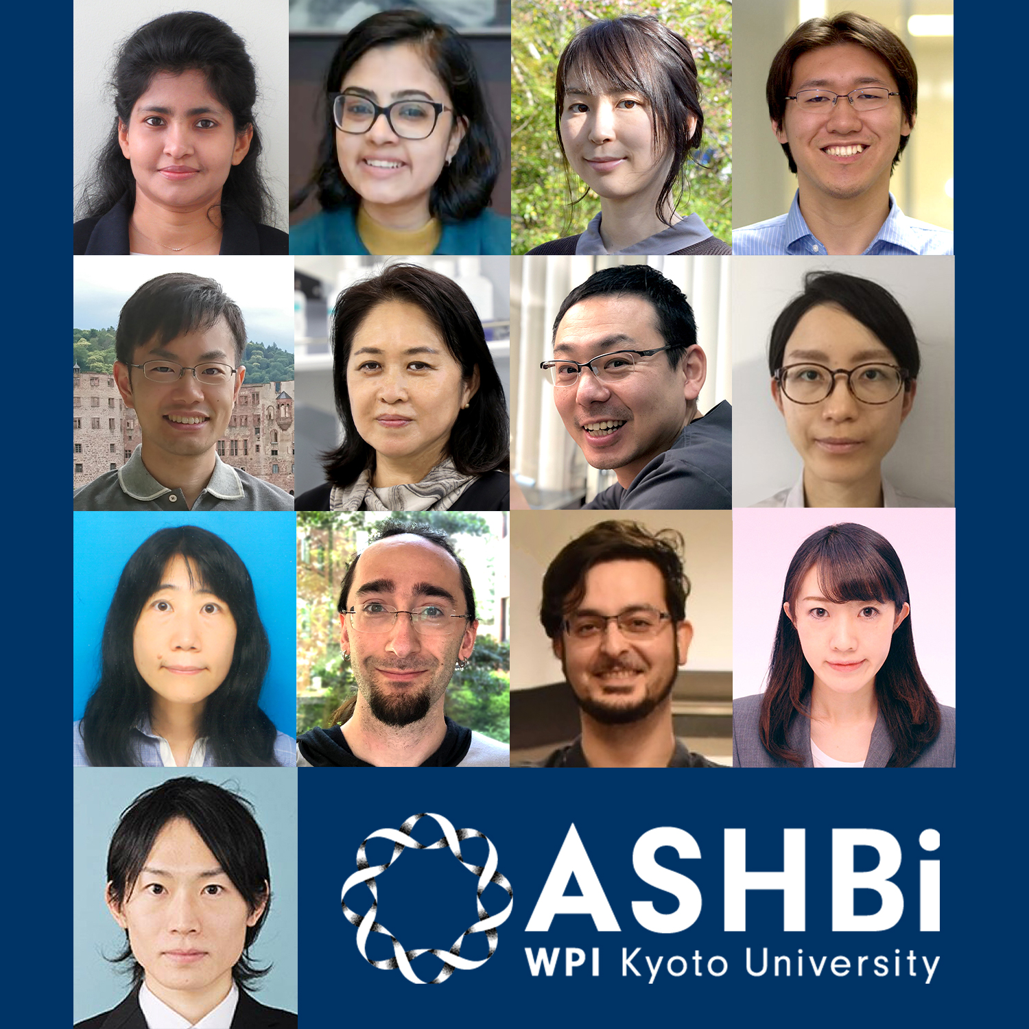 13 Researchers joined ASHBi