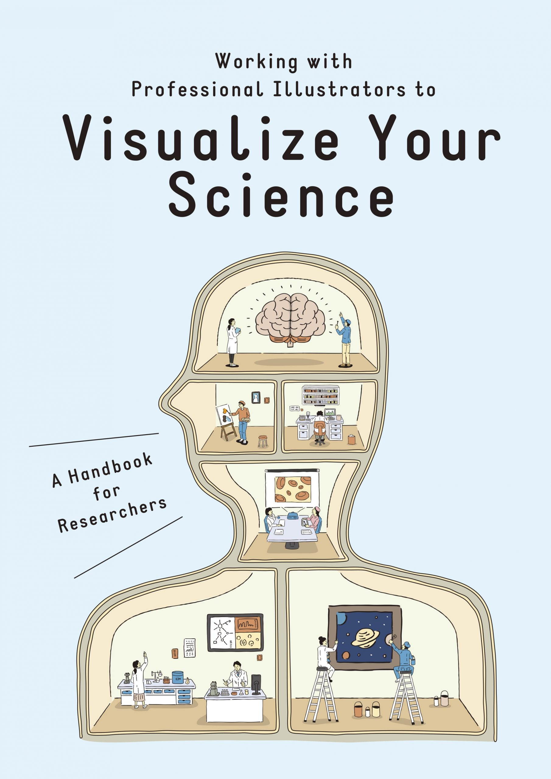 "Booklet ""Working with Professional Illustrators to Visualize Your Science"""