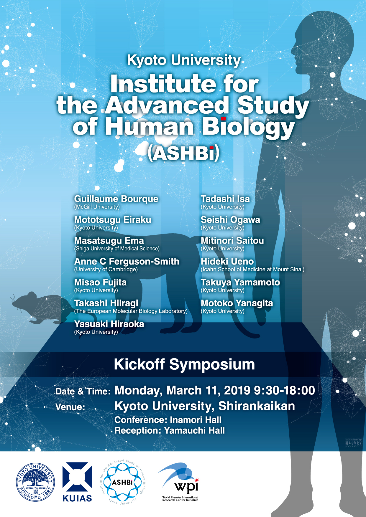 Institute for the Advanced Study of Human Biology (ASHBi)Kick-off Symposium