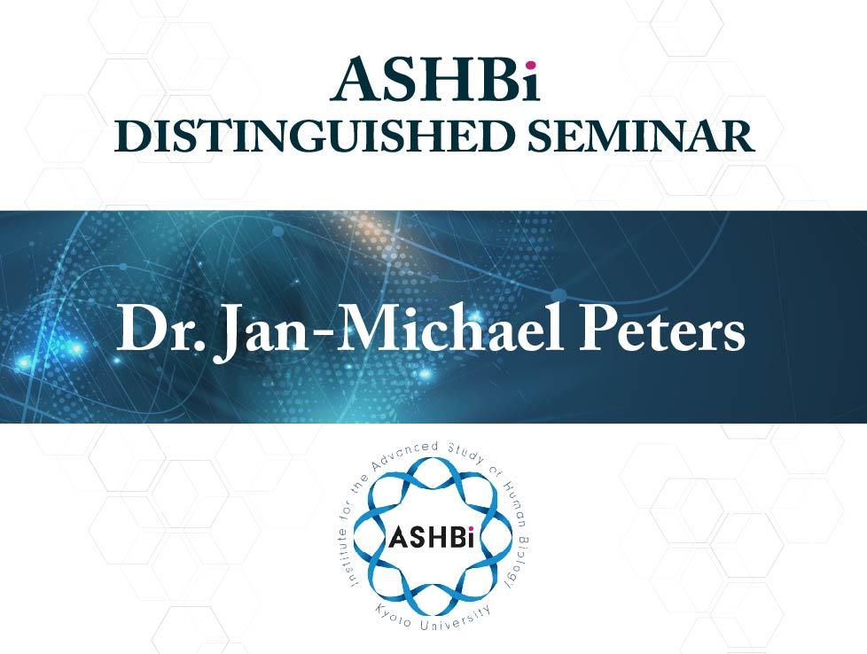 ASHBi Distinguished Seminar (DrJan-MichaelPeters)