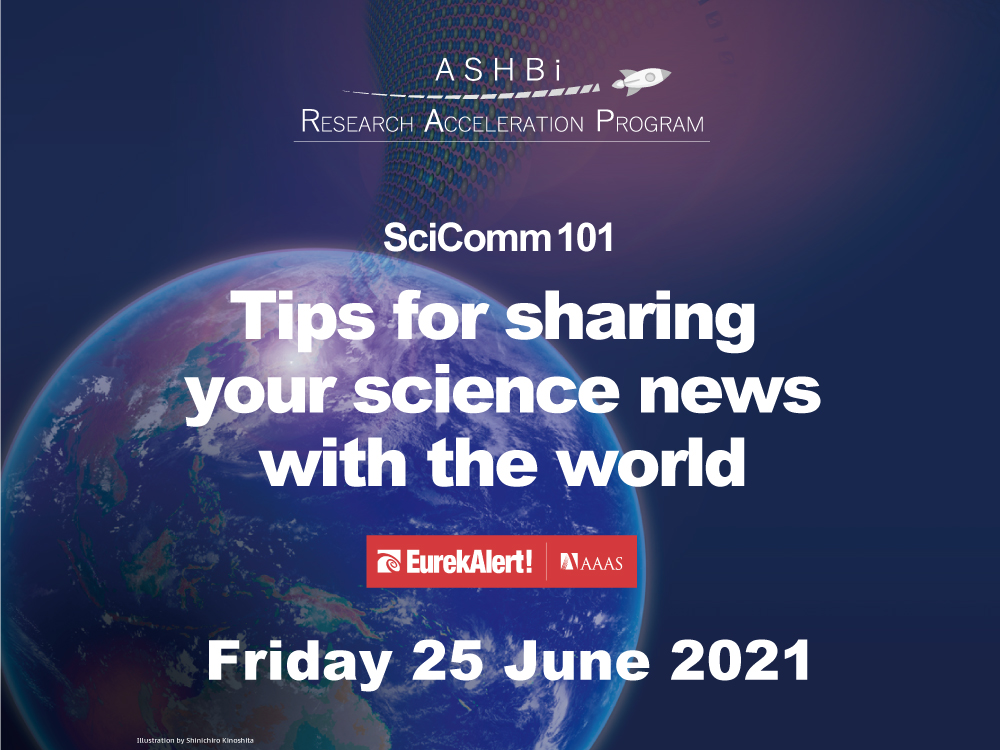 SciComm 101: Tips for sharing your science news with the world